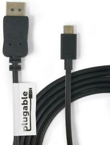 Plugable USB 3.1 Type-C to DisplayPort Adapter Cable