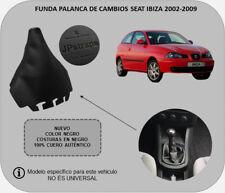 Para SEAT IBIZA (2002-2009) Funda Palanca de Cambios 100% Piel Auténtica