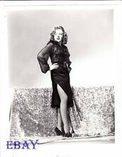 Evelyn Ankers leggy RARE Photo Sherlock Holmes Saves London