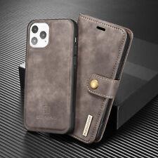 Detachable Flip Leather Phone Case Cover For iPhone 11 12 Pro 6S 7 8 Plus XR SE