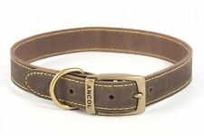 Ancol quality bridle leather dog collar,lead.Blue,Brown,Grey. XS,S,M,L💕