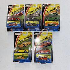 Matchbox Superfast Lot of 5