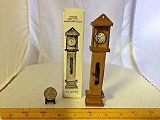 1/12 SCALE GRANDFATHER CLOCK NEW CONCORD, OLD STOCK IN ORIGINAL BOX