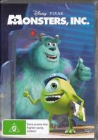 MONSTERS INC. - DISNEY PIXAR -  NEW & SEALED REGION 4 DVD FREE LOCAL POST