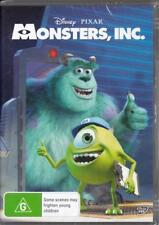 MONSTERS INC. - DISNEY PIXAR -  NEW & SEALED REGION 4 DVD FREE LOCAL POST