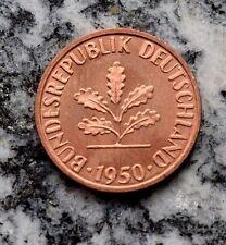 1 Pfennigmünzen Der Brd Ab 1950 Günstig Kaufen Ebay