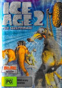 Ice Age 2 The Meltdown -Kids DVD Rare Aus Stock New Region 4