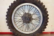 """1973 1974 1975 Maico rear wheel hub Akront rim 18"""""""