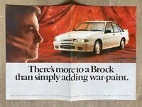 1988 HDT Brock Group 3 Signature Series original Australian sales brochure (D2G)