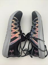 NEW! Youth Under Armour Black Athletic Running Tennis Shoes Sneakers Size 7Y