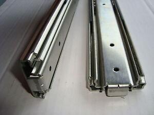 Paar Profi Vollauszüge 75 KG  350 bis 1050 mm Länge Schwerlastauszüge Vollauszug