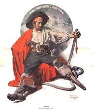 Norman Rockwell Nostalgic Pirate Print HOME