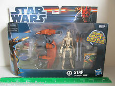 Star Wars STAP with Battle Droid - Includes Galactic Battle Game & Card Ages 4+