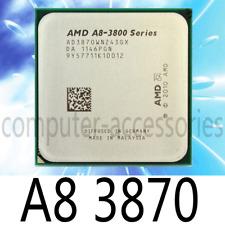 AMD A8-3870 3GHz 4M K10 APUA8 Socket FM1 CPU Processor