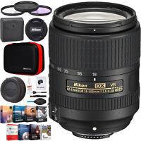 Nikon AF-S DX NIKKOR 18-300mm f/3.5-6.3G ED VR Lens with Auto Focus 2216 Bundle