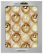 Set of 20 glass Christmas balls, Christmas Baubles, Christmas Decor, Xmas Decor