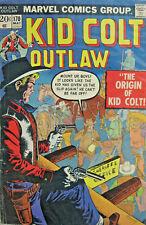 Kid Colt Outlaw Marvel Comic Bronze Age #170 1973 VG+ Western Origin