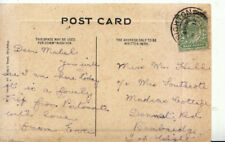 Genealogy Postcard - Hill - Dennet Road - Bembridge - Isle of Wight - Ref 3862A
