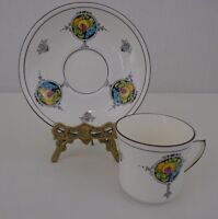 Royal Stafford #5122R England Fine Bone China  Cappuccino Cup and Saucer