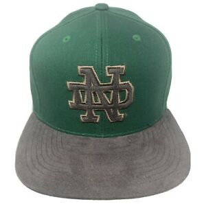 Mitchell & Ness NOTRE DAME FIGHTING IRISH Cap Hat Fitted 7 3/8 NWT NCAA