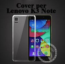 CUSTODIA COVER PER Lenovo K3 Note slim TRASPARENTE morbido TPU