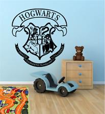 Harry Potter Hogwarts House Shield Badge Crest Vinyl Sticker Coats Of Arms Decal