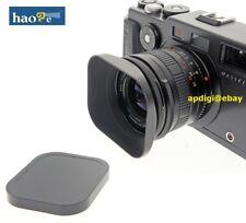 haoge 58mm LH-B58T Aluminum Lens Hood for Contax Zeiss Voigtländer Hasselblad