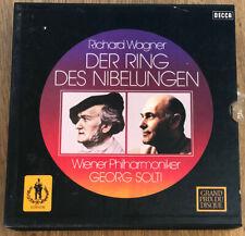 4 er Box 19 LP Der Ring der Niebelungen Wagner Decca OVP