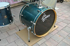 "ADD this GRETSCH CATALINA BIRCH 22"" CARIBBEAN BLUE BASS DRUM to UR DRUM SET J717"