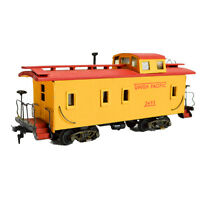 Tru Scale Union Pacific Caboose 2493 Ho Yellow Wood Built Kit 34 Feet Painted