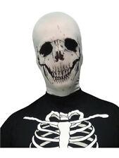 Scary Evil Skeleton Skull Stocking Fabric Mask Costume Accessory