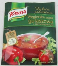 KNORR Hungarian Goulash soup onion - Made in Poland