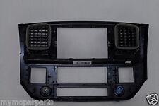 07-09 Dodge Ram 3500 Instrument Panel Dash NAV Center Bezel 5KS701DHAB OEM Mopar