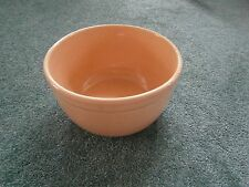 Antique Country Mixing Bowl 1.5 Quarts Rose Color