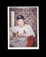 Larry Jackson Hand Signed 1978 TCMA 60's St.Louis Cardinals Autograph