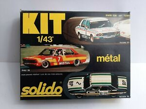 KIT SOLIDO 1:43 - n°5089 - BMW 530 - 1977/1978 - NEUF COMPLET