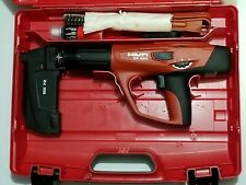HIlti DX 460 ,MX 72 Powder actuated tool Kit PRE OWNED in Plastic Case.