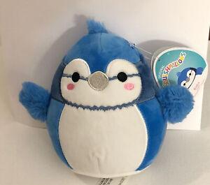 "Squishmallow BABS The Bluebird 5"" RARE HTF Plush W Original Tags BlueJay NWT USA"