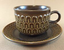 Wedgwood Pennine Flat Cup And Saucer Set made in England