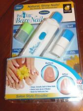 Ped Egg Bare Nails Cordless Nail Care System Natural Buff & Shine  (GRN-A1)