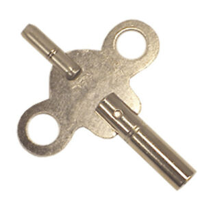 NEW Steel Double End Clock Key - Swiss Sizes - Choose From 10 Sizes!