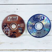 Fallout + Fallout 2 PC Video Game Software Bundle