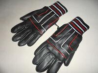 vintage 80`s VINYLAL Winter Handschuhe 80er glanz oldschool ski Vinylon 11/9