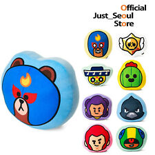 Official Line Friends X Brawl Stars Plush Basic Cushion Limited Edition+Tracking
