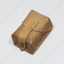 Original SERBIAN ARMY BROWN LEATHER AMMO POUCH - Surplus Mag Magazine Holder