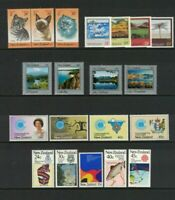 MNZ28) New Zealand 1983 Health, Paintings, Centenaries, Commonwealth, Xmas MUH