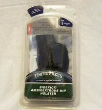 Uncle Mike's Sidekick Ambidextrous Holster, MO70010, Size 1, New