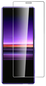 For Sony Xperia 10 ii Screen Protector Tempered Glass Case Friendly
