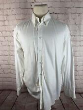Canali Men's White Solid Cotton Dress Shirt 16 34/35 $215