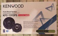 Kenwood KFC-1393PS 3-Way 5.25in Flush Mount Car Speakers